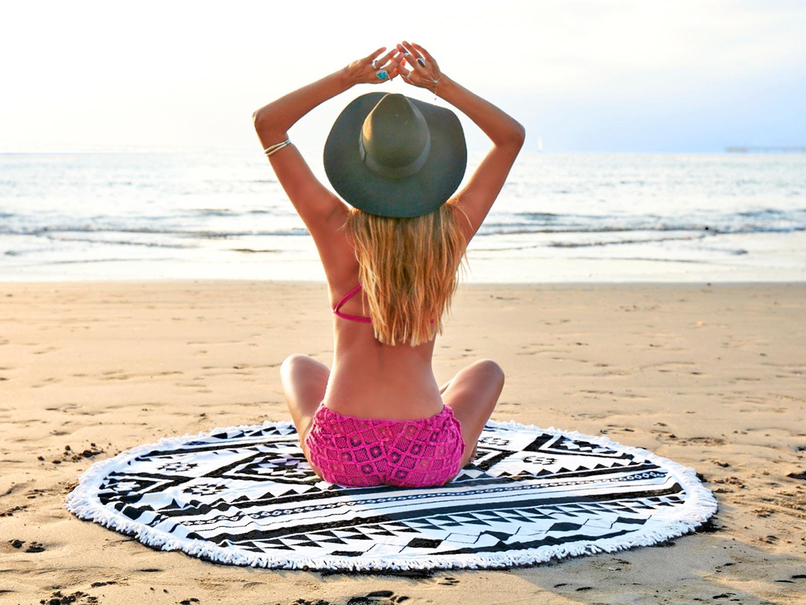 Best Fashion Design Microfiber Beach Towel