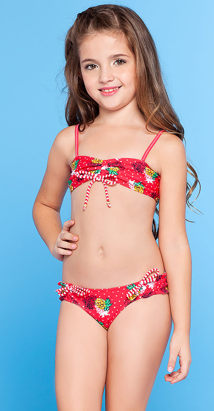 kids in bikini  Terez - Kids Make Up Mess Sport Bikini