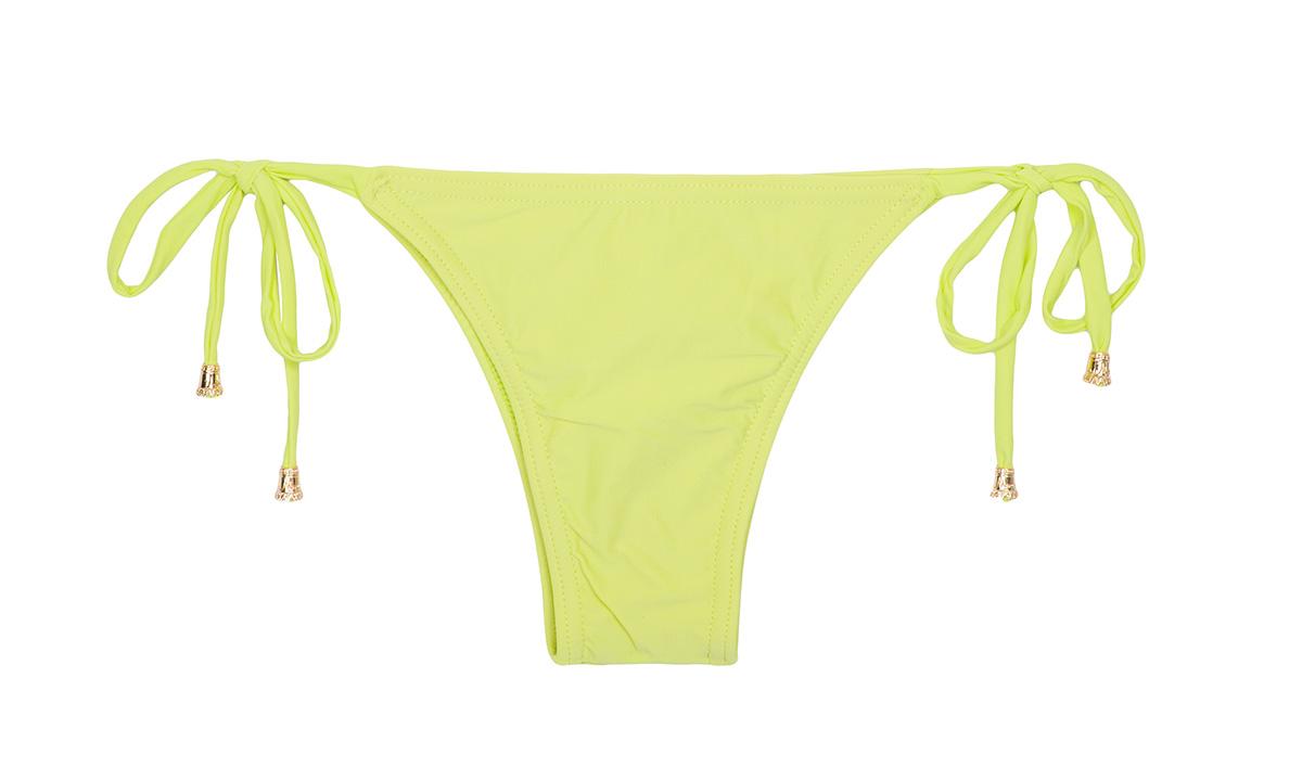limettengelber bikinislip zum binden calcinha essencial limone. Black Bedroom Furniture Sets. Home Design Ideas