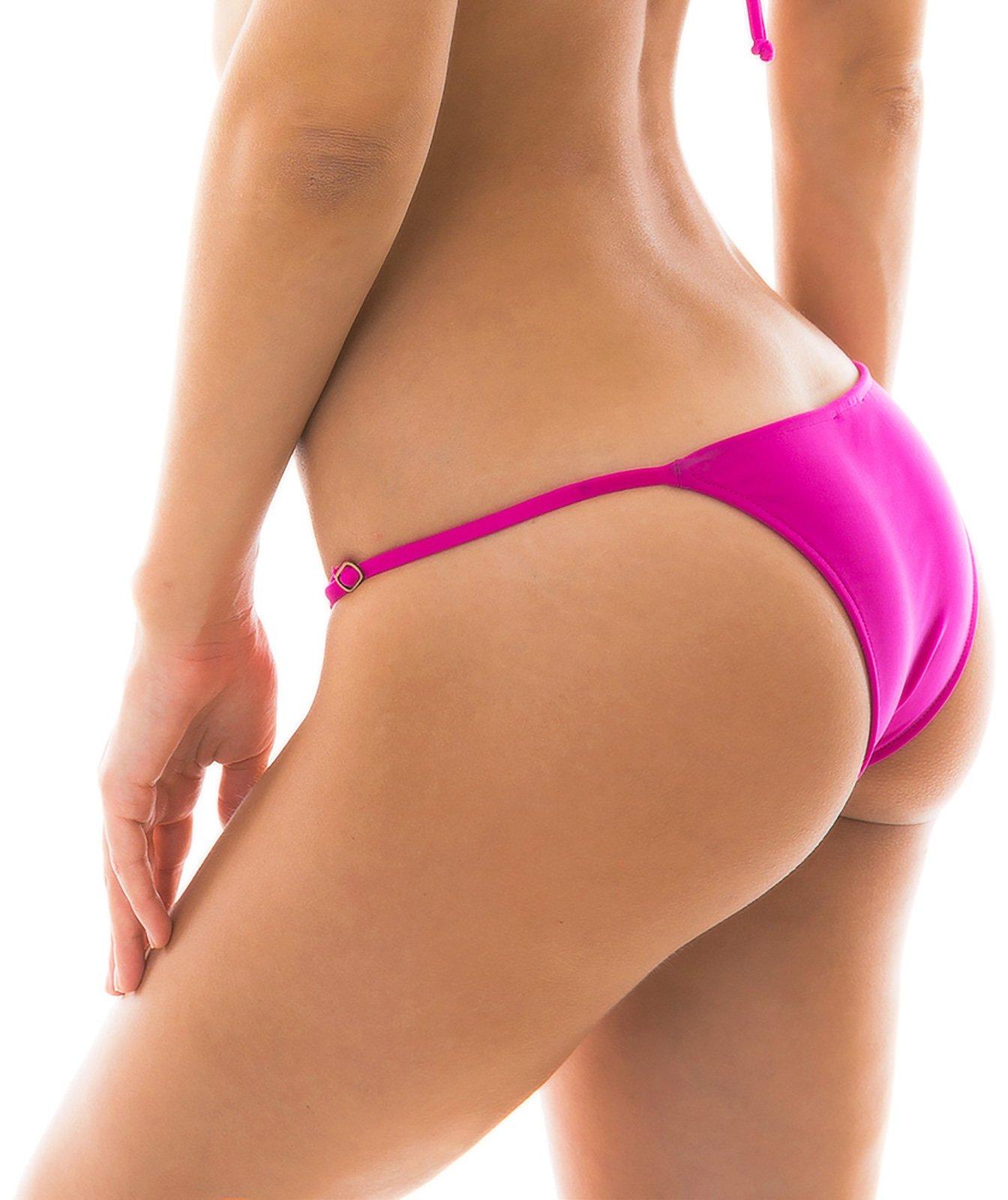02433fa2d3 ... Side-adjustable pink fuchsia bikini bottom - BOTTOM AMARANTO ARG FIXO