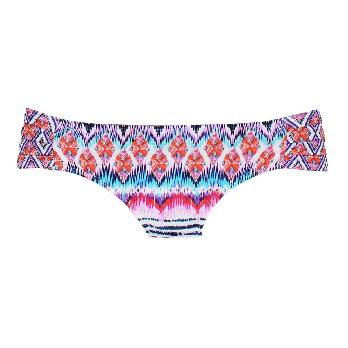 2f1ac845bde ... Ethnic multi-coloured fixed bikini bottom - CALCINHA RYTHM ...