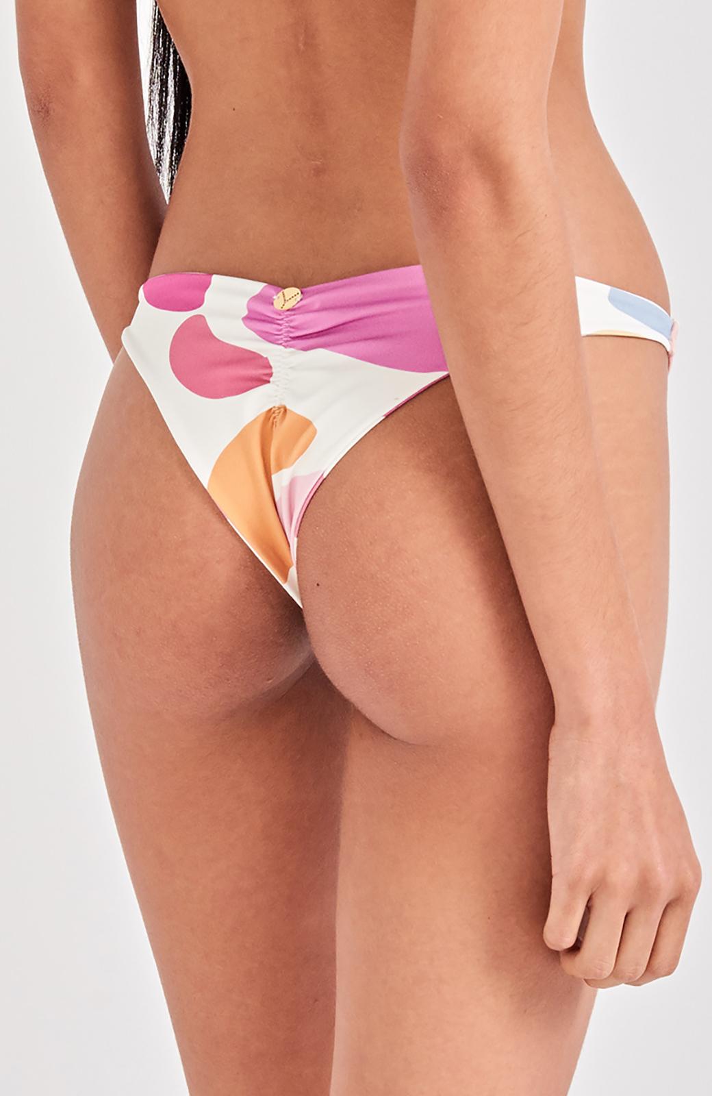 8c7f6bc49d221 Bikini Bottoms Colorful Scrunch Bikini Bottom - Bottom Alegria Artsy