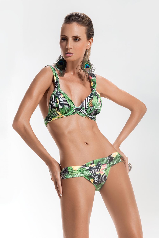Maryssil Exotic Triangle Bikini And Wide Side Bottom ...