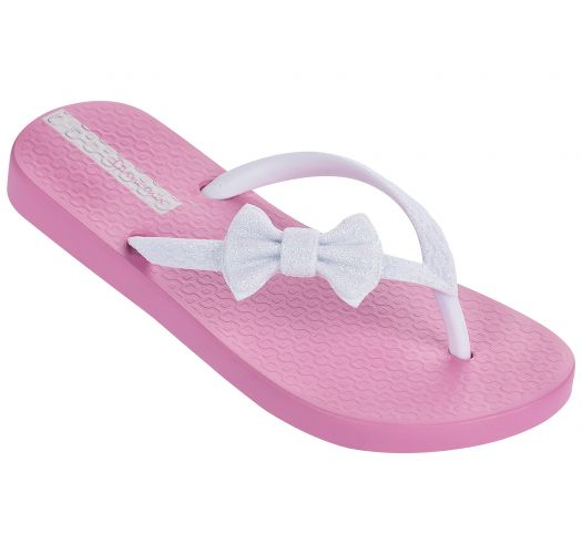 Iešļūcenes - Ipanema Lolita III Kids Pink/White