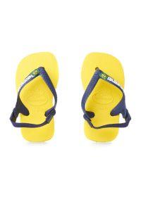 Flip-Flops - Baby Brasil Logo Citrus Yellow