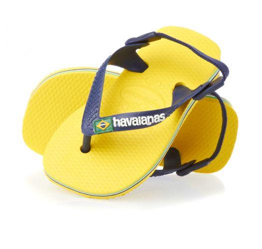 Japanke - Baby Brasil Logo Citrus Yellow