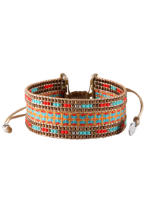 Bracelet COLLAGE BROWN MINI