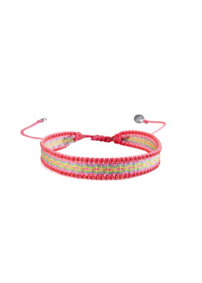 Armband CANAL PINK GREEN