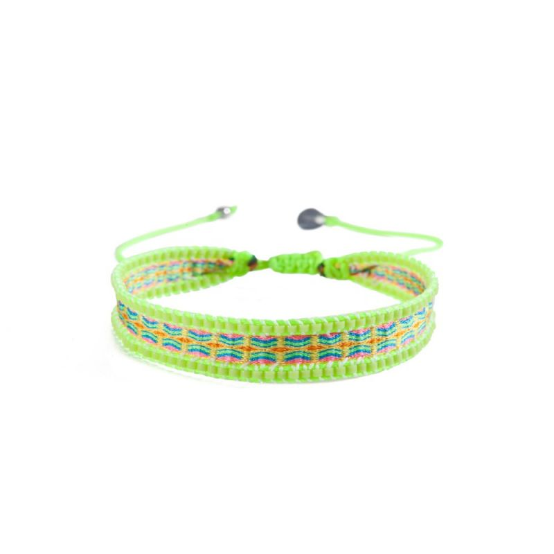 Bracelet CANAL YELLOW BLUE