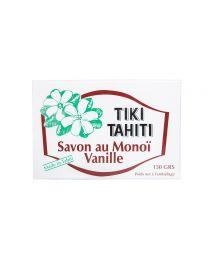Monoï enriched, vanilla scented soap, 130g - SAVON TIKI VANILLE