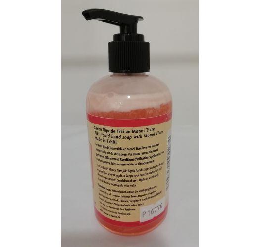 Liquid monoi soap 250 ml - TIKI SAVON LIQUIDE MONOI TIARE 250ML
