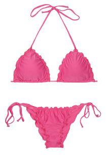 Brazilske bikini kopalke - LULI PINK