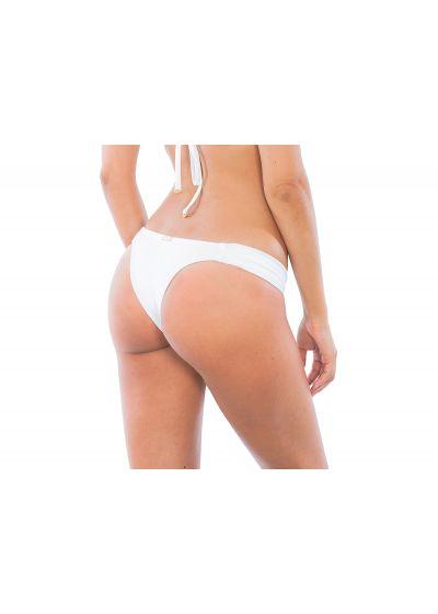 White low cut tanga, identicalcut front/back - CALCINHA ESSENCIAL WHITE