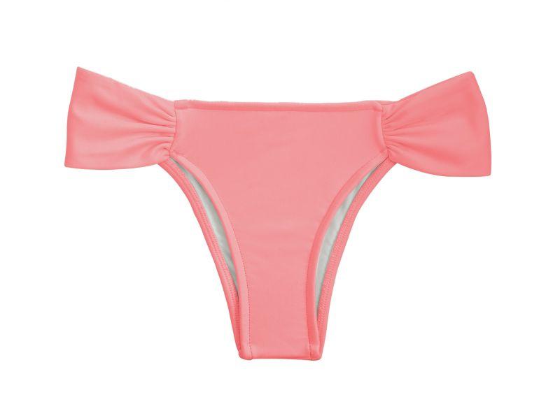 Pink peach fixed bikini bottom - BOTTOM BELLA BANDEAU