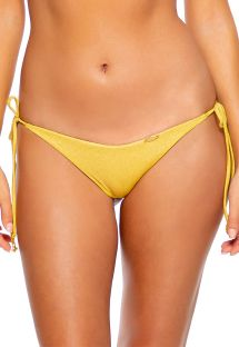 BOTTOM SEAMLESS RUCHED LULI DIVA SUNSET GOLD