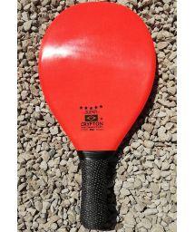 Professional orange frescobol paddle - RAQUETE FIBRA SUPER LARANJA