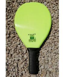 Professional light green frescobol paddle - RAQUETE FIBRA SUPER VERDE CLARO