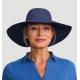 Cappello con Chiusura con velcro blu scuro - SAN DIEGO INDIGO - SOLAR PROTECTION UV.LINE