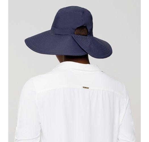 Cappello con Chiusura con velcro blu scuro - SAN DIEGO MARINHO - SOLAR PROTECTION UV.LINE