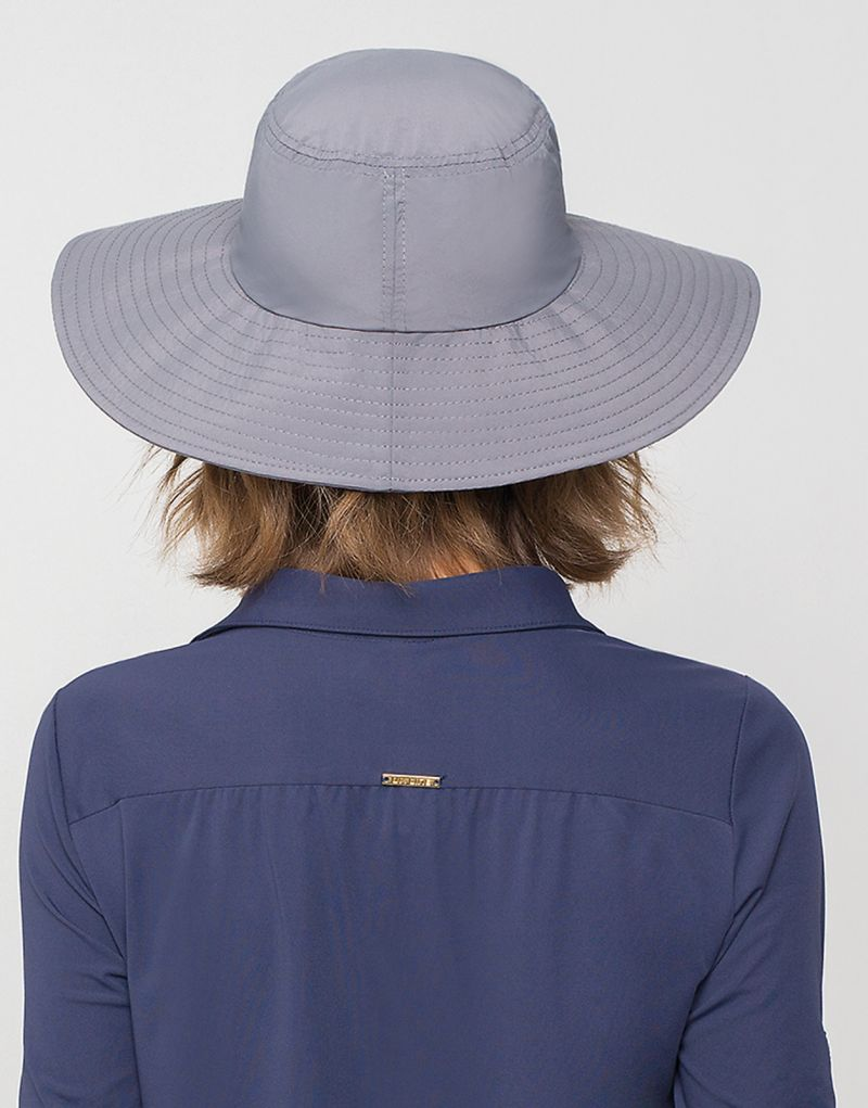 Vanlig grå mjuk hatt - CHAPEU LYON CHUMBO