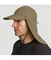 Khaki cap with neck protection - SPF50 - BONÉ LEGIONÁRIO KAKI - SOLAR PROTECTION UV.LINE