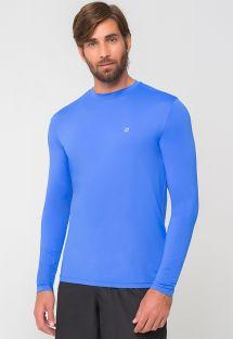 Mangas largas azul Marino de hombre  UPF50 - CAMISETA UVPRO AZUL - SOLAR PROTECTION UV.LINE