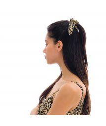 Scrunchie-Haargummi mit Leopardenmuster - LEOPARDO SCRUNCHIE