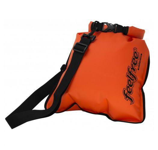 Sacoche bandoulière étanche orange 5L - INNER DRY FLAT 5L ORANGE