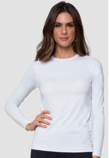 CAMISETA UVPRO BRANCO FEM - SOLAR PROTECTION UV.LINE