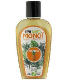 Monoï de Tahiti parfum ananas, flacon tatoué - MONOI GOURMAND ANANAS 120ML