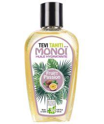 Monoï de Tahiti parfum passion, flacon tatoué - MONOI GOURMAND FRUITS DE LA PASSION 120ML
