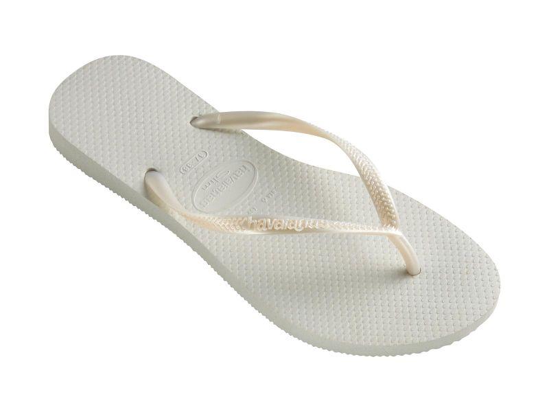 Flip-Flops - Slim White