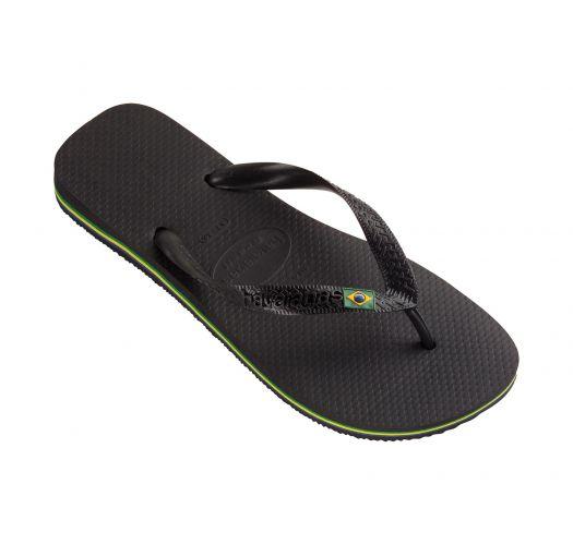 Flip-Flops - Brasil Black
