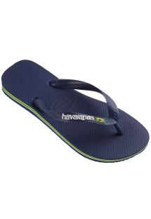 Flip flop - BRASIL LOGO NAVY BLUE