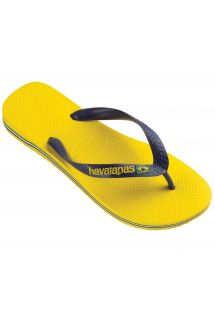 Chinelos - BRASIL LOGO CITRUS YELLOW