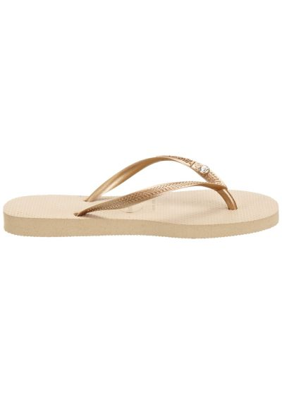Sandaler - Slim Crystal Glamour Sw Sand Grey