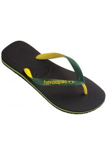 Slippers - Brasil Mix Black