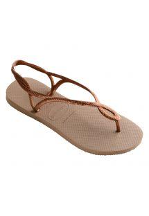 Sandaler - HAVAIANAS LUNA ROSE GOLD