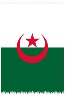 Пляжное полотенце, Парео - Государственный флаг Algeria