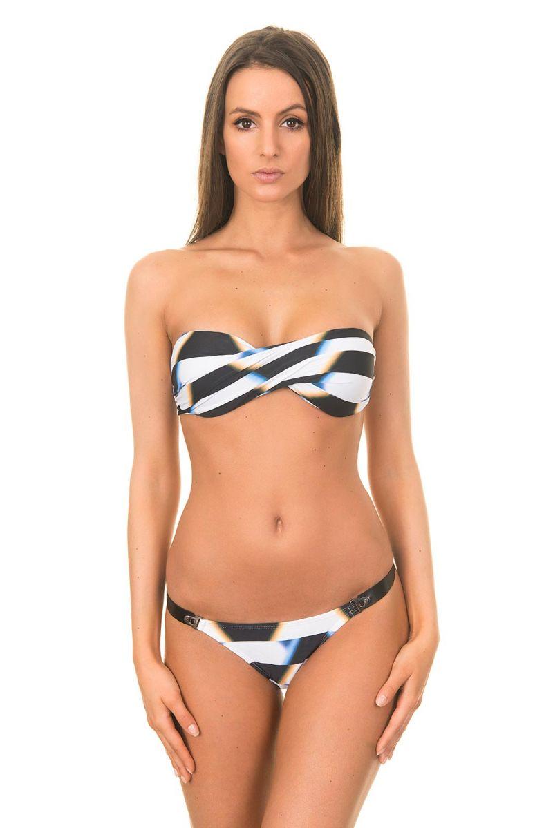 Bandeau Bikini NEW BANDEAU LEATHER BIKINI AFRICA PALAIS