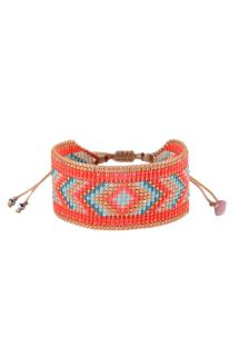 DIAMOND RED GOLD TURQUOISE