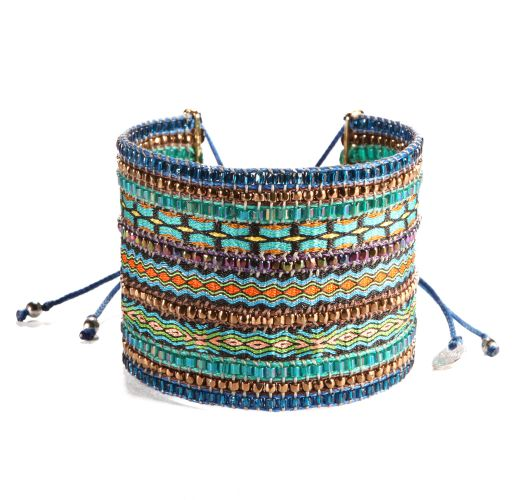 Bracelet COLLAGE BLUE TURQUOISE BIG