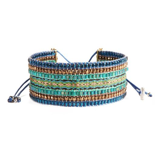 Bracelet COLLAGE COPPER PURPLE
