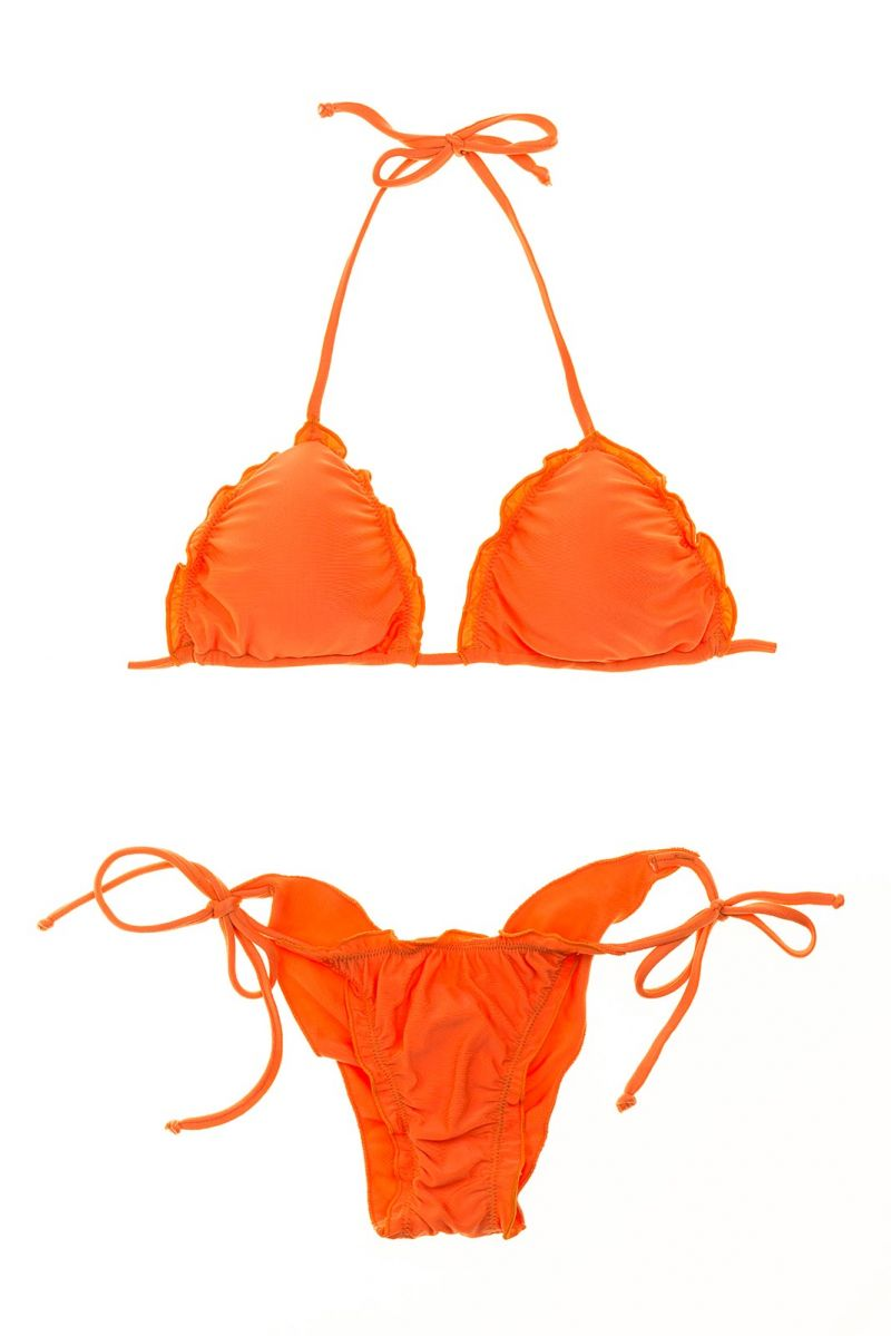 Brazilian Bikini - LULI ORANGE