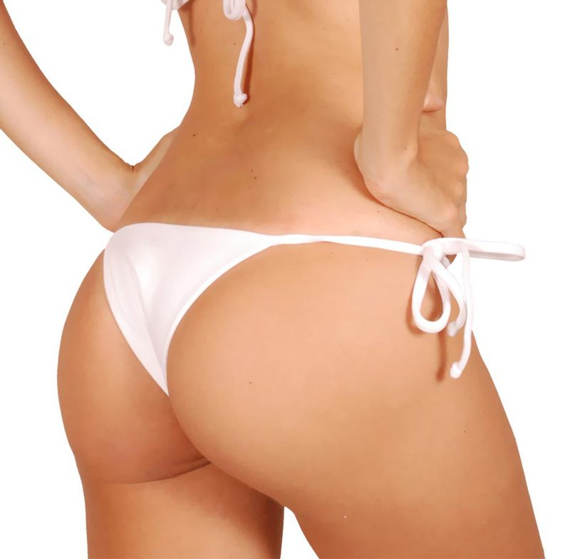 Brazilian bottom - CALCINHA BRANCO