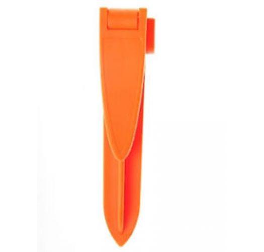 Pack of 4 Beach Towel Clips Orange