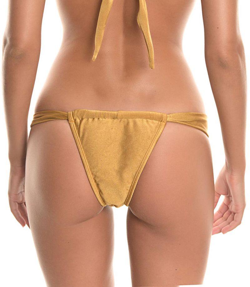 Adjustable bottom - CALCINHA TORNADO GOLD