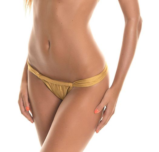 Adjustable bottom - CALCINHA TORNADO GOLD