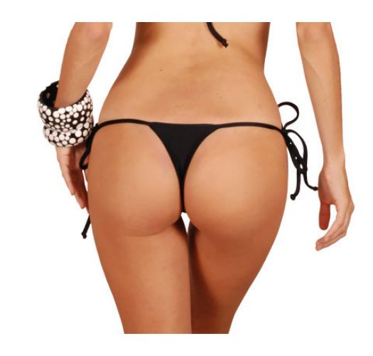 Thong bottom - CALCINHA PRETO MICRO