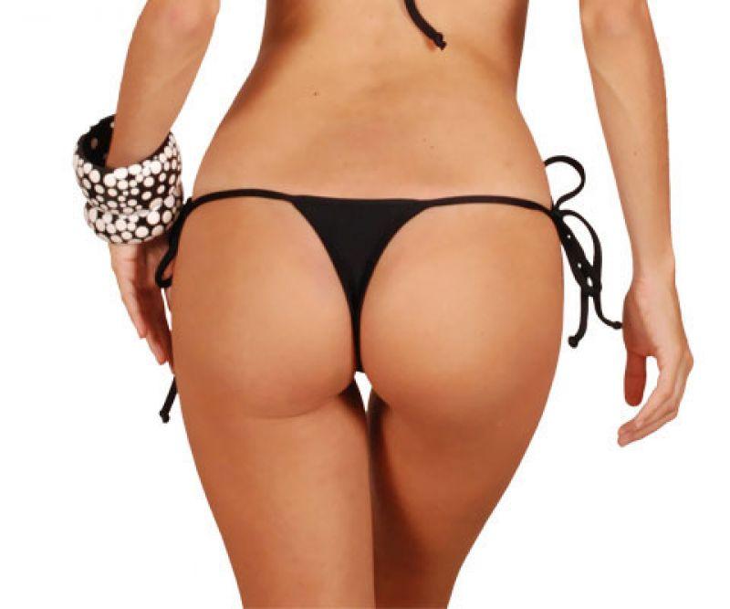 Thong bottom - CALCINHA PRETO MICRO